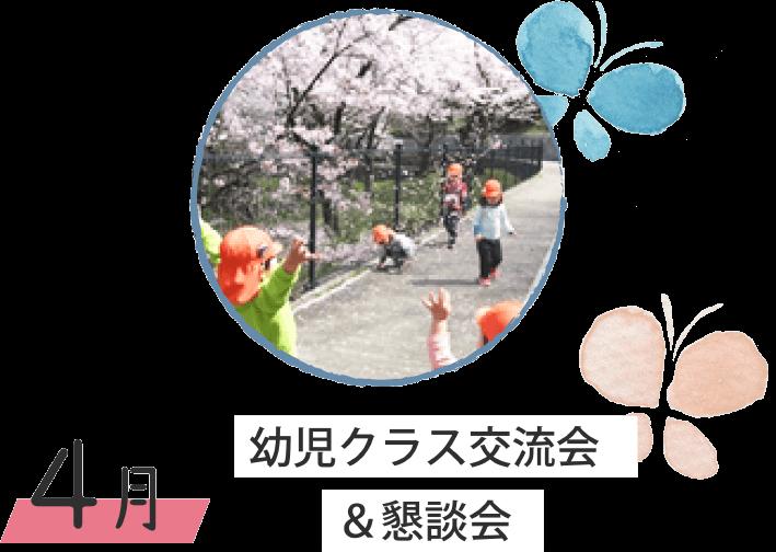 4月 幼児クラス交流会&懇談会